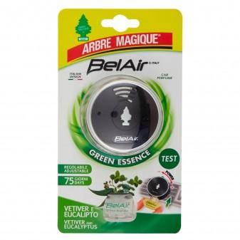 Arbre Magique BelAir Green Essence per Profumatore per Auto Fragranza Vetiver ed Eucalipto