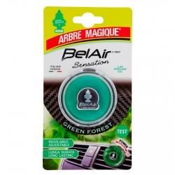 Arbre Magique BelAir Sensation Green Forest Profumatore in Gel per Auto