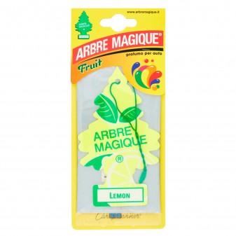 Arbre Magique Fruit Profumatore Solido per Auto Fragranza Lemon Lunga Durata