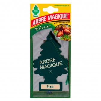 Arbre Magique Classic Profumatore Solido per Auto Fragranza Pino Lunga Durata