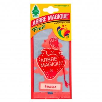 Arbre Magique Fruit Profumatore Solido per Auto Fragranza Fragola Lunga Durata