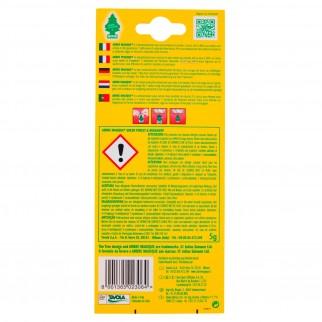 Arbre Magique Double Essence Profumatore Solido per Auto Fragranza Green Forset & Bergamot Lunga Durata
