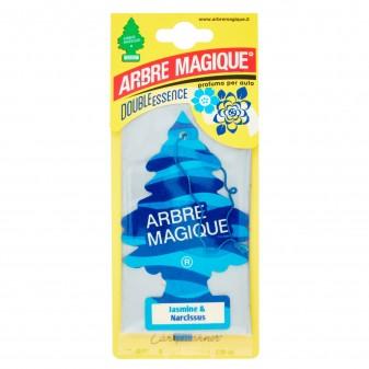 Arbre Magique Double Essence Profumatore Solido per Auto Fragranza Jasmine & Narcissus Lunga Durata