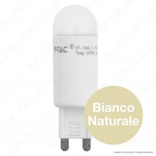 V-Tac VT-1846 Lampadina LED G9 2W Bulb - SKU 4150 / 4151 / 4177
