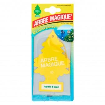Arbre Magique Mediterraneo Profumatore Solido per Auto Fragranza Agrumi di Capri Lunga Durata