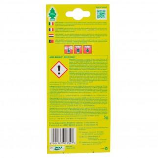 Arbre Magique Green Country Profumatore Solido per Auto Fragranza Berries Valley Lunga Durata