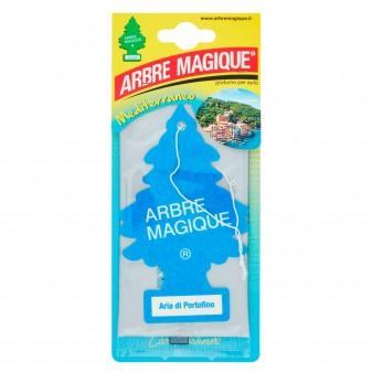 Arbre Magique Mediterraneo Profumatore Solido per Auto Fragranza Aria di Portofino Lunga Durata