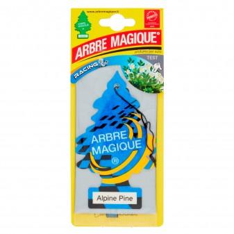 Arbre Magique Racing Profumatore Solido per Auto Fragranza Alpine Pine Lunga Durata