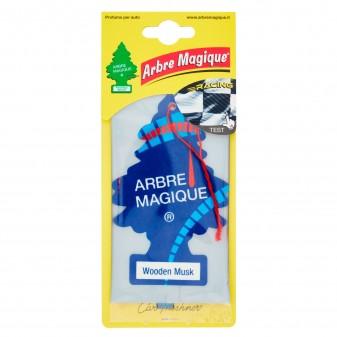 Arbre Magique Racing Profumatore Solido per Auto Fragranza Wooden Musk Lunga Durata
