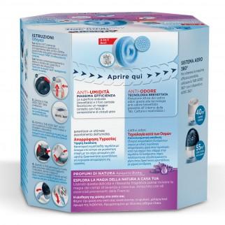 Ariasana Tab 2in1 Assorbiumidità e Anti Odore Lavanda per Aero 360° - Confezione con 1 Ricarica