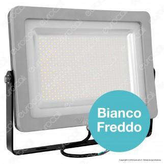 V-Tac VT-48152 Faretto LED SMD 150W Ultra Sottile da Esterno Colore Grigio e Nero - SKU 5739 / 5740