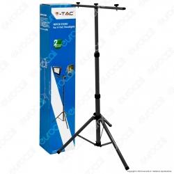 V-Tac VT-41150 Supporto Treppiede per Fari LED - SKU 9546