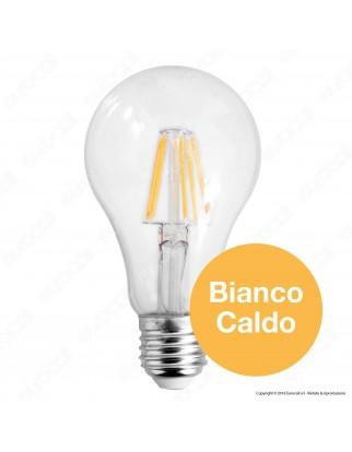 V-Tac VT-1981 Lampadina LED E27 10W Bulb A67 Filamento - SKU 4410 / 4411 / 4412