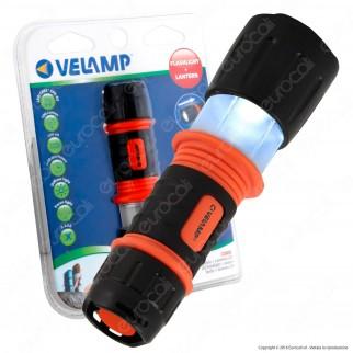 Velamp IN265 Combi Torcia + Lanterna LED Rivestita in Gomma Con Cinturino