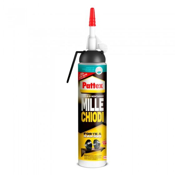 Pattex Mille Chiodi Forte e Rapido Colla di Montaggio con Pistola Integrata - Flacone da 250g