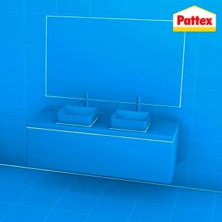Pattex Bagni e Cucine Sigillante Resistente alla Muffa a Lunga Durata - Flacone da 50ml