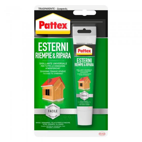 Pattex Esterni Riempie e Ripara Sigillante Universale per Tutte le Condizioni - Flacone da 50ml