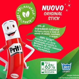 Pritt Original Stick Colla Trasparente - 1 Flacone da 11g