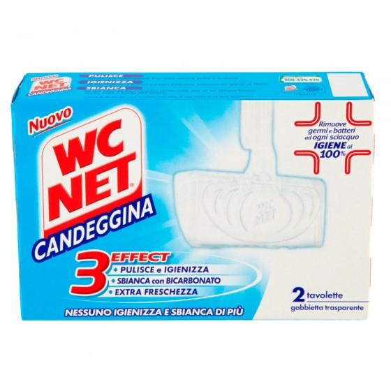 WC Net Candeggina Detergente Solido per il WC - Confezione da 2 Tavolette