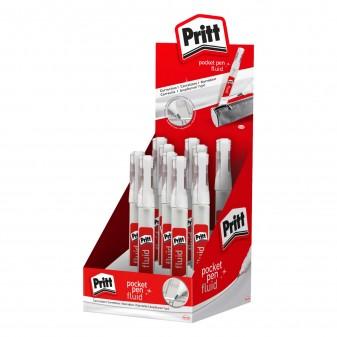 Pritt Pocket Pen Fluid Correttore Liquido - Confezione da 8 Penne