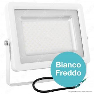 V-Tac Faretto LED SMD 100W Ultra Sottile da Esterno Colore Bianco - SKU 5741 / 5742