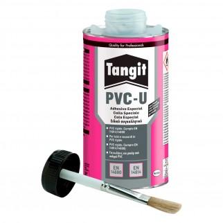 Tangit PVC-U Adesivo Speciale per Tubature con Pennello - Latta da 1 Kg