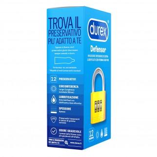 Preservativi Durex Defensor - Scatola 12 Profilattici