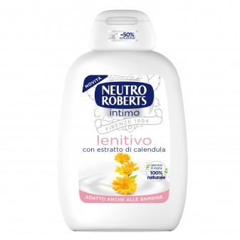 Neutro Roberts Detergente Intimo Lenitivo con Estratti di Calendula - Flacone da 200ml