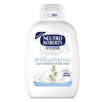 Neutro Roberts Detergente Intimo Antibatterico con Estratti di Tea Tree - Flacone da 200ml