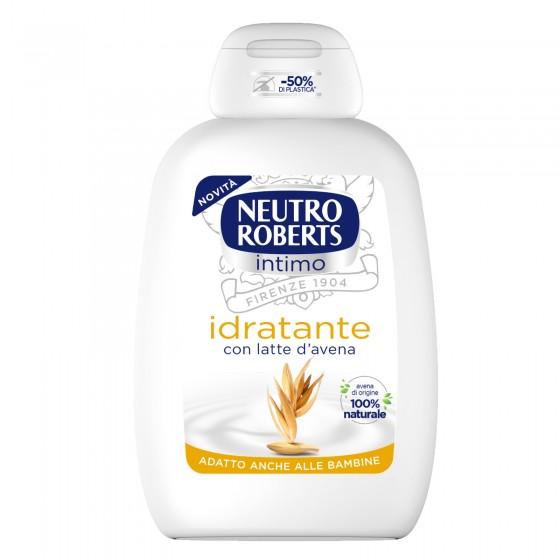 Neutro Roberts Detergente Intimo Idratante con Estratti di Latte d'Avena - Flacone da 200ml