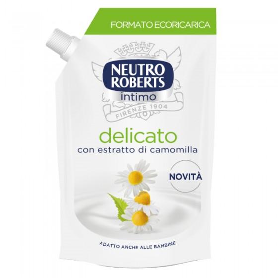 Neutro Roberts Detergente Intimo Delicato con Estratti di Camomilla - Flacone da 400ml