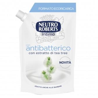 Neutro Roberts Detergente Intimo Antibatterico con Estratti di Tea Tree - Flacone da 400ml