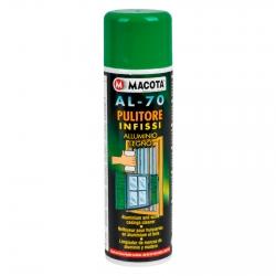 Spray Macota AL-70 - Pulitore per Infissi in Alluminio o Legno 500ml