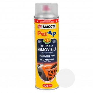 Macota Pelap Pellicola Spray Removibile - Trasparente Protettivo Disponibile in 3 Finiture
