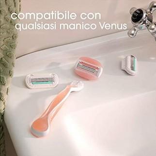 Gillette Venus Spa Breeze Ricariche per Rasoi a 3 lame - Confezione da 4 Testine