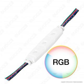 V-Tac VT-50503 Modulo 3 LED 1,24W 12V RGB Impermeabile - SKU 5028