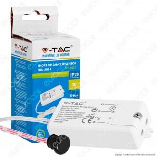 V-Tac VT-8025 Sensore a Infrarossi Attivazione Tramite Movimento per Lampadine - SKU 5084
