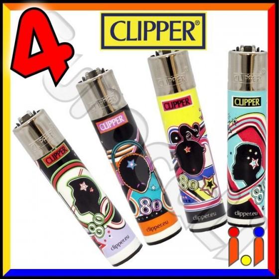 Clipper Large Fantasia 80's - 4 Accendini