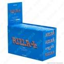 Cartine Rizla Blu Corte - Scatola da 100 Libretti