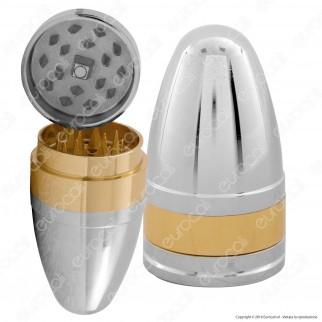 Grinder Tritatabacco 3 Parti in Metallo - Cartuccia