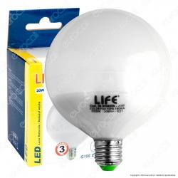 Life Serie GF Lampadina LED E27 20W Globo G120 - mod. 39.920402C / 39.920402N / 39.920402F