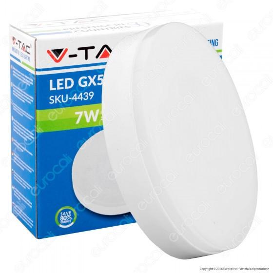 V-Tac VT-1969 Lampadina LED GX53 7W BULB DISC - SKU 4437 / 4438 / 4439