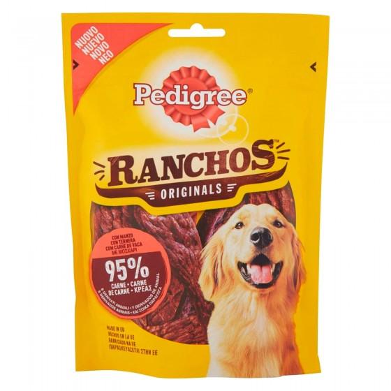 Pedigree Ranchos Originals Snack per Cani con 95% di Carne al Gusto di Manzo - Confezione da 70g