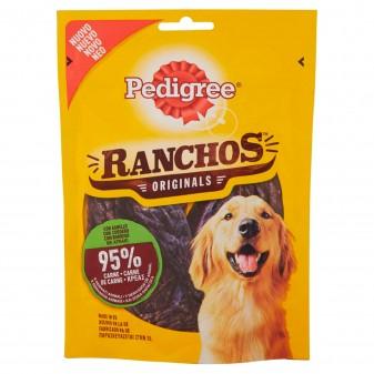 Pedigree Ranchos Originals Snack per Cani con 95% di Carne al Gusto di Agnello - Confezione da 70g
