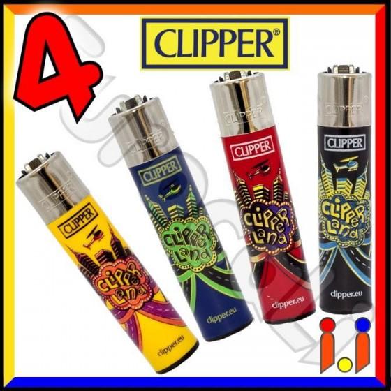 Clipper Large Fantasia Clipperland - 4 Accendini