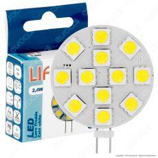 Life Lampadina LED G4 2,4W Bulb Disc