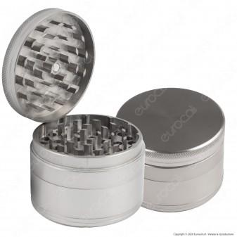 Grinder Tritatabacco in Alluminio 4 Parti