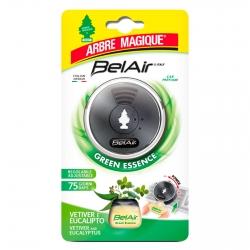 Arbre Magique BelAir Green Essence Profumatore per Auto Fragranza Vetiver ed Eucalipto