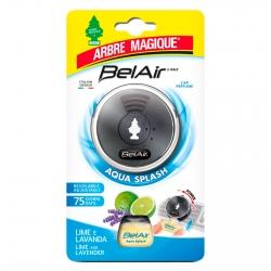 Arbre Magique BelAir Acqua Splash Profumatore per Auto Fragranza Lime e Lavanda