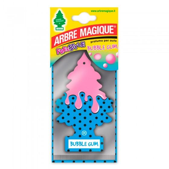 Arbre Magique Freestyle Profumatore Solido per Auto Fragranza Bubble Gum Lunga Durata